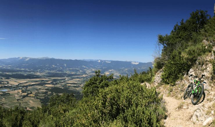 MTB trails Drome