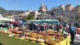 Provencaalse markt in Nyons