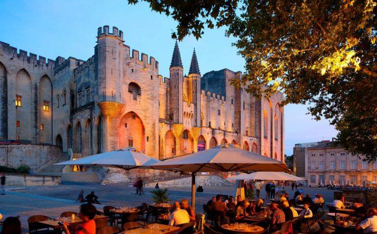 Palais des Papes, Avignon, Vaucluse, Provence