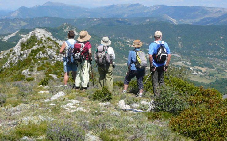 Prachtig wandelen in de Baronnies-Provençal