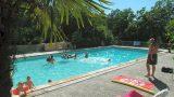 Zwembad, glamping op de kleine camping Moulin de Cost