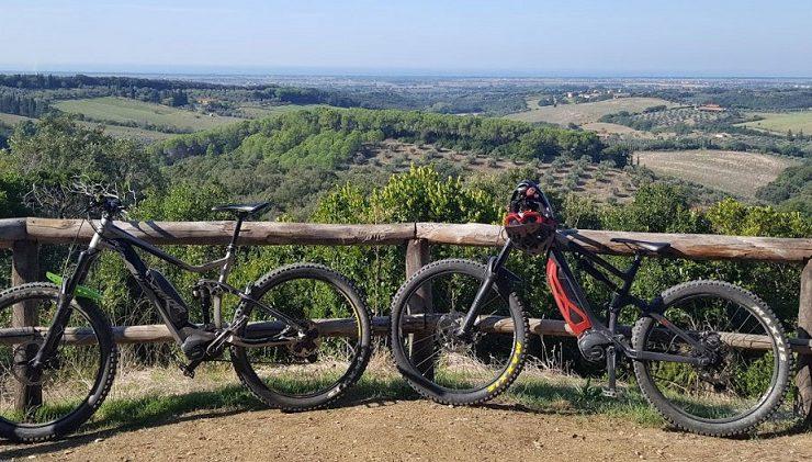 Mountainbiken agricampeggio La Prugnola, Toscane